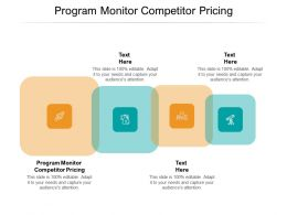 Program Monitor Competitor Pricing Ppt Powerpoint Presentation Gallery Inspiration Cpb