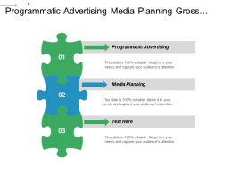 Programmatic Advertising Media Planning Gross Retention Digital Strategy Cpb