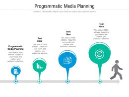 Programmatic Media Planning Ppt Powerpoint Presentation Infographics Background Image Cpb