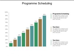 Programme Scheduling Ppt Powerpoint Presentation Show Brochure Cpb