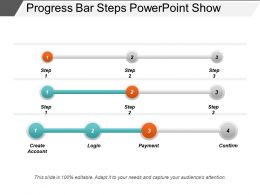 Progress Bar Steps Powerpoint Show