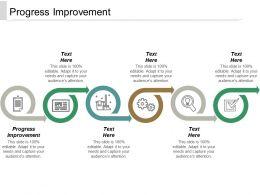 Progress Improvement Ppt Powerpoint Presentation Ideas Templates Cpb