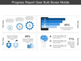 Progress Report Gear Bulb Boxes Mobile
