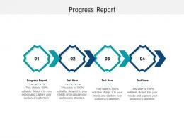 Progress Report Ppt Powerpoint Presentation Summary Background Cpb