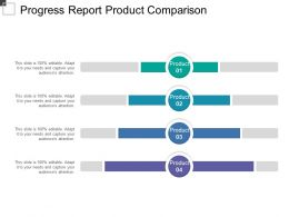 Progress Report Product Comparison