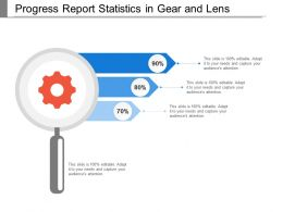 Progress Report Statistics In Gear And Lens