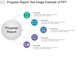 Progress Report Text Image Example Of Ppt