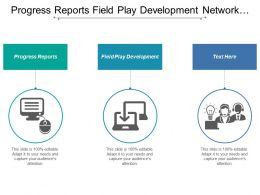Progress Reports Field Play Development Network Marketing Company