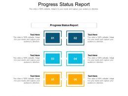 Progress Status Report Ppt Powerpoint Presentation Inspiration Gridlines Cpb