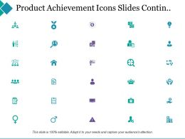 Project Achievement Powerpoint Presentation Slides Contin
