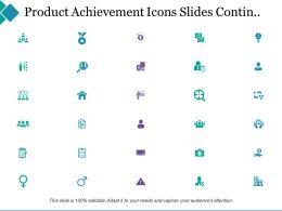 Project Achievement Powerpoint Presentation Slides Contin