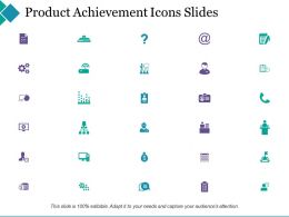 Project Achievement Powerpoint Presentation Slides Ppt Powerpoint Presentation File Deck