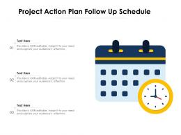 Project Action Plan Follow Up Schedule