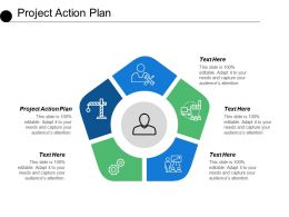 Project Action Plan Ppt Powerpoint Presentation Model Example Topics Cpb