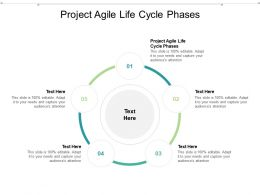 Project Agile Life Cycle Phases Ppt Powerpoint Presentation Model Background Cpb