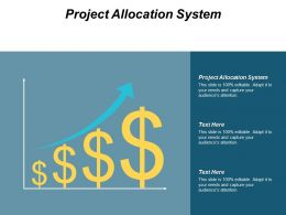 Project Allocation System Ppt Powerpoint Presentation Layouts Aids Cpb