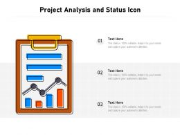 Project Analysis And Status Icon