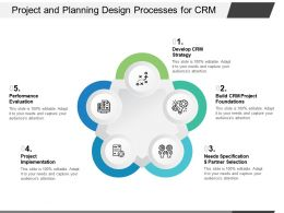 Project And Planning Design Processes For CRM
