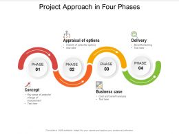 Project Approach In Four Phases