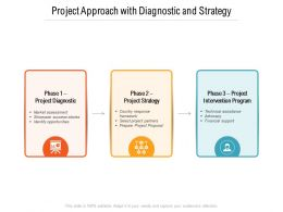Project Approach With Diagnostic And Strategy