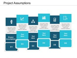Project Assumptions Ppt Powerpoint Presentation Infographic Template Graphics Template Cpb