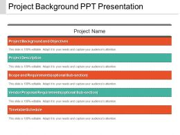 Project Background Ppt Presentation