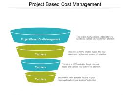 Project Based Cost Management Ppt Powerpoint Presentation Slides Demonstration Cpb
