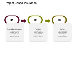 Project Based Insurance Ppt Powerpoint Presentation Icon Example Cpb