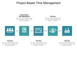 Project Based Time Management Ppt Powerpoint Presentation File Skills Cpb