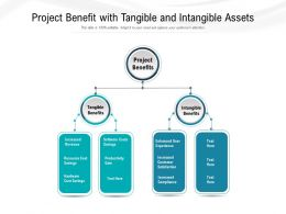 Project Benefit With Tangible And Intangible Assets