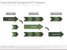 Project Benefits Management Ppt Examples