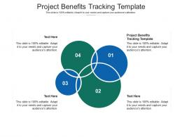 Project Benefits Tracking Template Ppt Powerpoint Presentation Pictures Slide Cpb