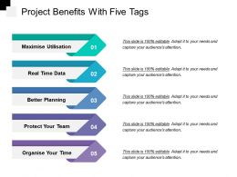 Project Benefits With Five Tags