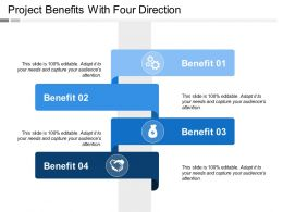 Project Benefits With Four Direction