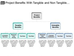 Project Benefits With Tangible And Non Tangible Benefits