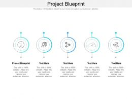 Project Blueprint Ppt Powerpoint Presentation Show Backgrounds Cpb