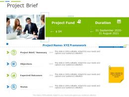 Project Brief Business Project Planning Ppt Professional