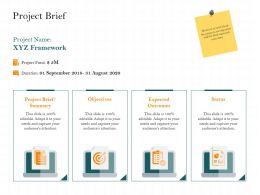 Project Brief Duration M2488 Ppt Powerpoint Presentation Professional Gridlines