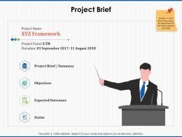 Project Brief Expected Outcomes Ppt Powerpoint Presentation Pictures Guide
