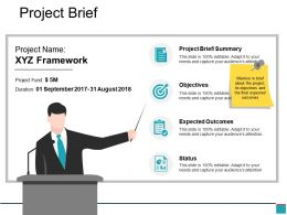 Project Brief Powerpoint Slides Templates
