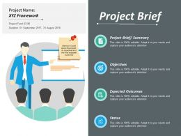 Project Brief Ppt Infographics Graphics Pictures