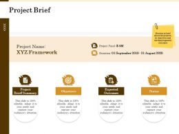 Project Brief Status M2138 Ppt Powerpoint Presentation Layouts Designs Download