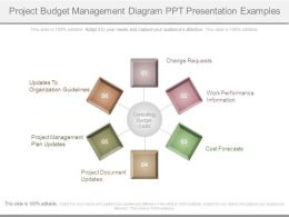 Project Budget Management Diagram Ppt Presentation Examples