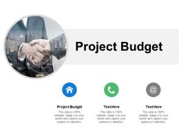 Project Budget Ppt Powerpoint Presentation Icon Templates Cpb
