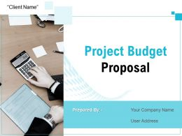 Project Budget Proposal Powerpoint Presentation Slides
