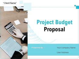 Project Budget Proposal Powerpoint Presentation Slides