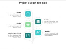 Project Budget Template Ppt Powerpoint Presentation Summary Guide Cpb