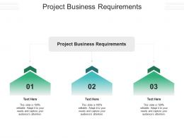 Project Business Requirements Ppt Powerpoint Presentation Model Slideshow Cpb