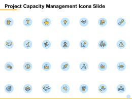 Project Capacity Management Icons Slide L1017 Ppt Powerpoint File
