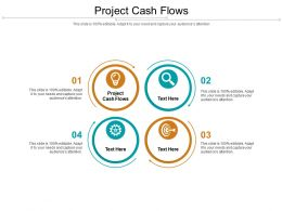 Project Cash Flows Ppt Powerpoint Presentation Show Grid Cpb